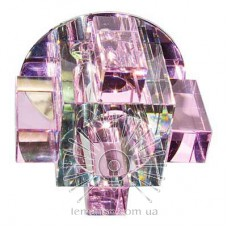 Спот Lemanso ST119 розовый-хром  G9