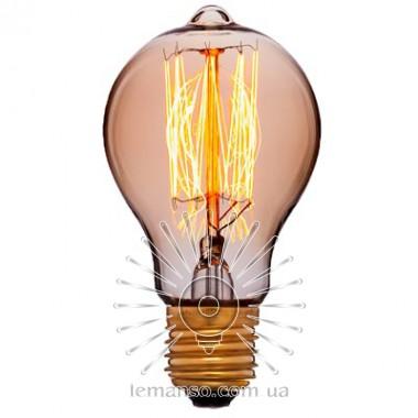 Лампа Эдисона Lemanso 40W A60 E27 2700K / LM722 описание, отзывы, характеристики