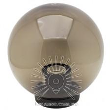 Шар диаметр 250 дымчатый Lemanso PL2104 макс. 25W  + база с E27