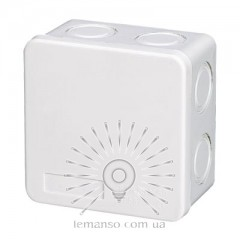 Расп. коробки LEMANSO 85*85*50 квадрат / LMA200