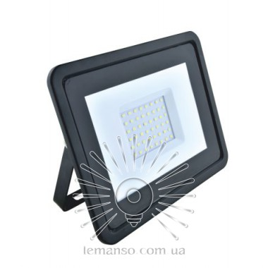 Прожектор LED 30w 6500K IP65 1900LM LEMANSO чёрный/ LMP15-30 - опис, характеристики, відгуки