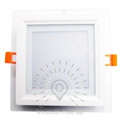 LED панель Lemanso 12W 540LM 4500K 85-265V квадрат / LM1035 + стекло М