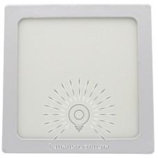 Накладная панель LED квадрат Lemanso 12W 900LM 4500K 85-265V / LM1049