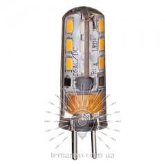 Лампа Lemanso св-ая G4 24LED 1,5W 230V 120LM 6500K 3014SMD силикон / LM349