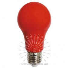 Лампа Lemanso св-ая 7W A60 E27 175-265V красная / LM3086