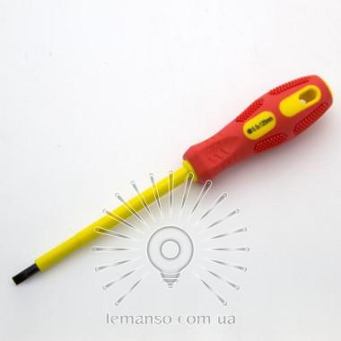 Отвертка диэлектрическая до 380V LEMANSO 31х104мм LTL60003 описание, отзывы, характеристики