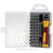 Набор сменных головок и бит с держателем и удлинителем  LEMANSO LTL100