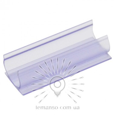 Крепеж к стене LEMANSO 5см 14*15,7мм для неона 15*15мм 360град. пластик  / LM872 прозр. описание, отзывы, характеристики