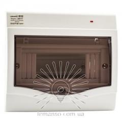 Коробка под 5-8 автоматов LEMANSO накладная, ABS, индикатор / LMA117