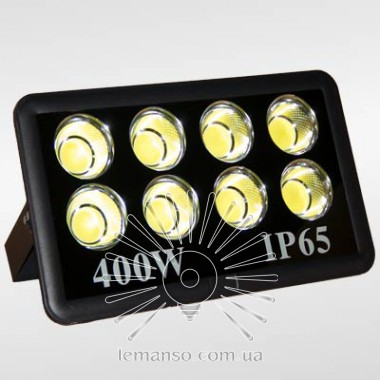 Прожектор LED 400w 6500K 8LED IP65 36000LM LEMANSO чёрный/ LMP14-400 описание, отзывы, характеристики
