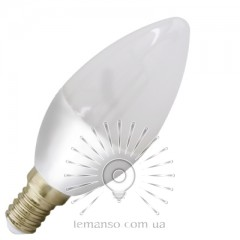 Lamp Lemanso St. 6W C37 E14 480LM 4000K 175-265V / LM3017