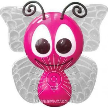Ночник Lemanso Бабочка 4 LED*RGB с сенсором розовая / NL14 описание, отзывы, характеристики