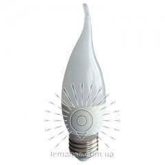 Лампа Lemanso LED C37T E27 4,2W 380LM 6500K / LM701 с хвостом