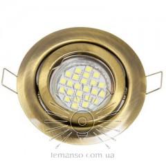 Спот Lemanso DL3205 MR16 античное золото