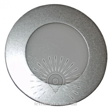 LED панель Lemanso 6W 480LM 4000K круг серебро / LM451 описание, отзывы, характеристики