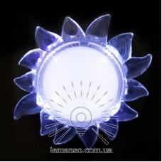 Ночник Lemanso Солнце белый 4 LED / NL150