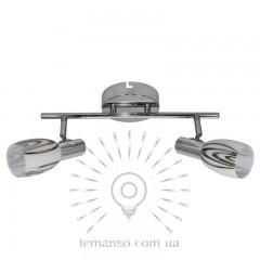 Спот Lemanso ST183-2 двойной E14 / 9W хром