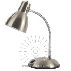 Настольная лампа Lemanso 60W E27 LMN098 серебро с выключателем