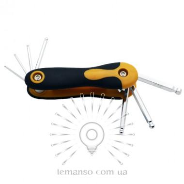 Набор раскладных шестигранных ключей с шариком 7шт. LEMANSO LTL10005 описание, отзывы, характеристики