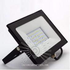 Прожектор LED 50w 6500K IP65 4000LM LEMANSO чёрный/ LMP9-52
