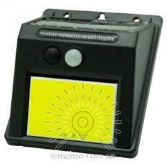 Подсветка для стены COB Lemanso 6W 600LM IP65 с д/движения и солнечной  панелью  / LM1112 + аккумулятор