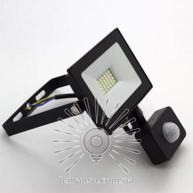 Прожектор LED 30w 6500K 1800LM LEMANSO 175-265V с датчиком / LMPS38 описание, отзывы, характеристики