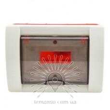 Коробка под 2 автоматы LEMANSO внутренняя, ABS / LMA121