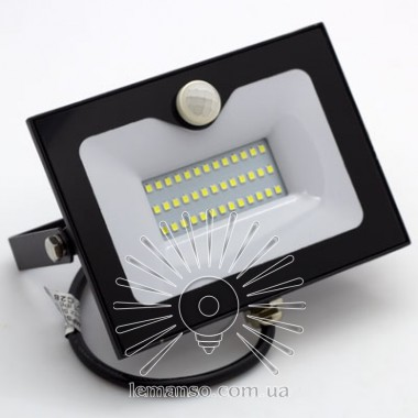 Прожектор LED 50w 6500K 3000LM LEMANSO со встроенным датчиком / LMPS56 описание, отзывы, характеристики