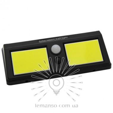 Подсветка для стены COB Lemanso 12W 1200LM IP65 с д/движения и солнечной панелью / LM1113 + аккумулятор описание, отзывы, характеристики