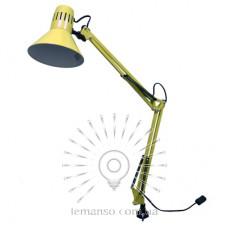Настольная лампа Lemanso 20Вт, для лед ламп E27 LMN093 жёлтая