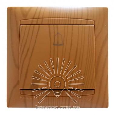 Кнопка звонка LEMANSO Сакура ольха LMR1410 описание, отзывы, характеристики