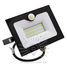 Прожектор LED 50w 6500K IP65 3000LM LEMANSO со встроенным датчиком чёрный/ LMPS56