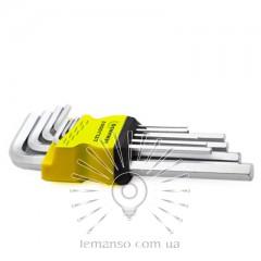Набор шестигранных ключей 9шт. LEMANSO LTL10001