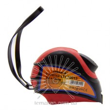 Рулетка LEMANSO 3м x 16мм LTL70013 красно-чёрная