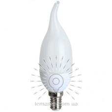 Лампа Lemanso LED C37T E14 7,5W 550LM 2700K / LM702 с хвостом