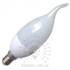 Лампа Lemanso св-ая 4W C37T E14 380LM 4000K 220-240V / LM3019 хвост (гар.1год)