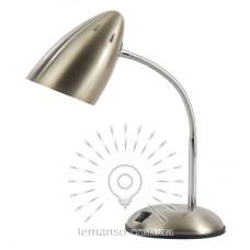 Настольная лампа Lemanso 60W E27 LMN099 серебро с выключателем