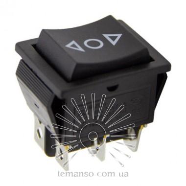 Переключатель  Lemanso  LSW20 большой чёрный 3 пролож. с фикс./ KCD2-2 описание, отзывы, характеристики