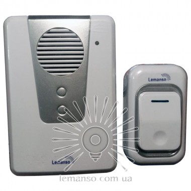 Звонок Lemanso 230V LDB16 белый с серым описание, отзывы, характеристики