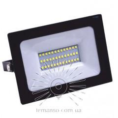 Прожектор LED 30w 6500K IP65 1800LM 180-300V LEMANSO чёрный/ LMP22