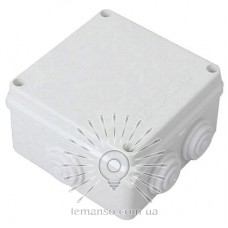Расп. коробки LEMANSO 200*100*70 квадрат / LMA209 с резиновыми заглушк