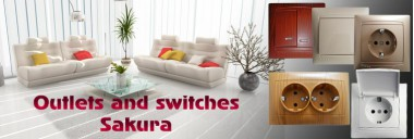 Outlets and switches Sakura