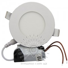LED панель Lemanso 3W 120LM 85-265V 6500K круг / LM1042 Комфорт