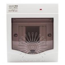 Коробка под 2-4 автоматы LEMANSO накладная, ABS, индикатор / LMA115