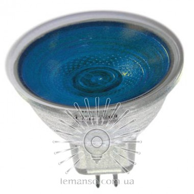 Лампа Lemanso JCDR 50W 230V синяя описание, отзывы, характеристики