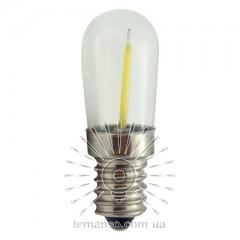 Лампа Lemanso св-ая 0,8W T20 E14 64LM 6500K 230V прозрачная / LM3083 для холодильника