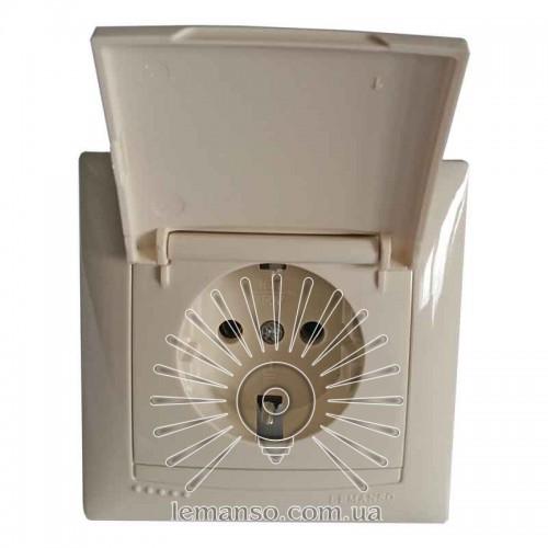 Купить Розетка керамика с крышкой LEMANSO Сакура крем LMR1119 в ... 455ba7b0c478d