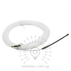 Протяжка кабеля d=3мм 10м Lemanso LMK201 нейлоновая белая