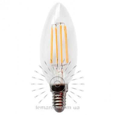 Лампа Lemanso св-ая C35 E14 4W 4LED 420LM 3000K / LM392 описание, отзывы, характеристики