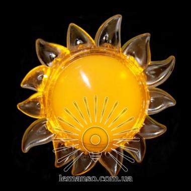 Ночник Lemanso Солнце жёлтый 4 LED / NL8 описание, отзывы, характеристики